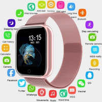 2019 Donne Orologio Intelligente Impermeabile P70 P68 Bluetooth 4.0 Smartwatch Per Apple IPhone xiaomi lg Monitor di Frequenza Cardiaca Fitness Tracker