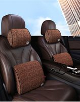 Auto speicher baumwolle kopfstütze neck kissen taille kissen Hand genäht Auto für BMW E39 E46 325i E53 X5-in Nackenkissen aus Kraftfahrzeuge und Motorräder bei