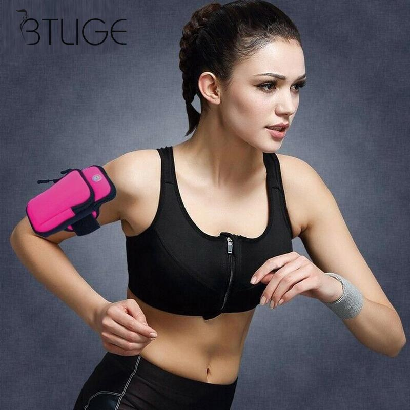 Outdoor Sports Arm Bag Waterproof Running Mobile Phone Arm With Wrist Bag