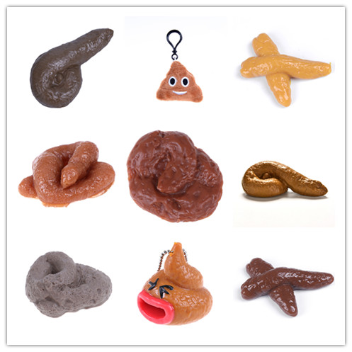 Prank Fake Poop Crap Poo Gross Joke Dirty Trick Novelty Flies On Turd Disgusting Realistic Shits Shit Antistress Toys Balloon