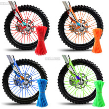 Motorcycle Dirt Bike Enduro Off Road Rim Wheel spoke skins For honda CRF 450 CR CRF XR XL 85 125 250 500 KTM EXC KAWASAKI YAMAHA motorcycle dirt bike enduro off road rim wheel spoke skins for honda crf 450 cr crf xr xl 85 125 250 500 ktm kawasaki yamaha bmw