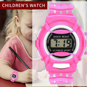 Watch Children Lightweight Silicone Electronic Kids Casual And DO99 Durable Newly