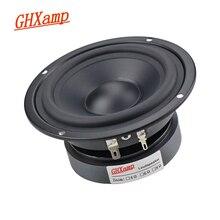 Pure Midrange Luidspreker Hifi 4 Inch 115Mm 80W Alto Speaker 8ohm Mediant Thuis Mid Unit Rubber Side mat Gecoat Papier Diy 1Pcs