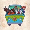Крик Скуби-Ду ворсистый Фред Велма Дафна литая металлическая эмалированная булавка для фургона значок для шляпы