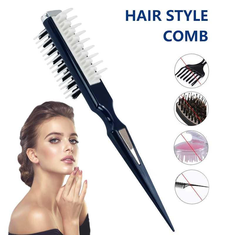 Hair Brush Curly Hair Comb Cepillos Para El Pe Hairstyle Wet Brush Hair Comb Shark Back Combs Instant Hair Volumia Style Comb
