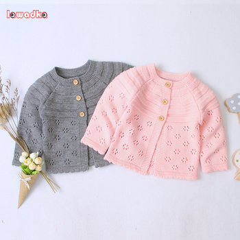 Baby 2020 Autumn Winter Kids Boys Girls Sweaters Girl Solid Cotton Sweater Jacket Boys Knitted Kids Sweaters girls solid jacket