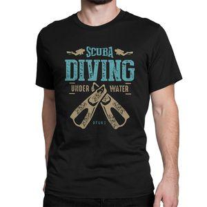 Men's T-Shirts Scuba Diving Vi