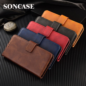 On Honor 8S Cover Leather Wallet Case For Huawei Honor 4C 6C 7A 7C 8A 9X 20 Pro 6A 7S 7X 8X 8S 10i 20i Coque Plain Vintage Case(China)