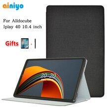 Новый случай крышка для ветвью Alldocube и Iplay40 10,4 Inch Tablet Pc Стенд из искусственной кожи чехол для Iplay 40 + Защитная пленка на экран, подарки