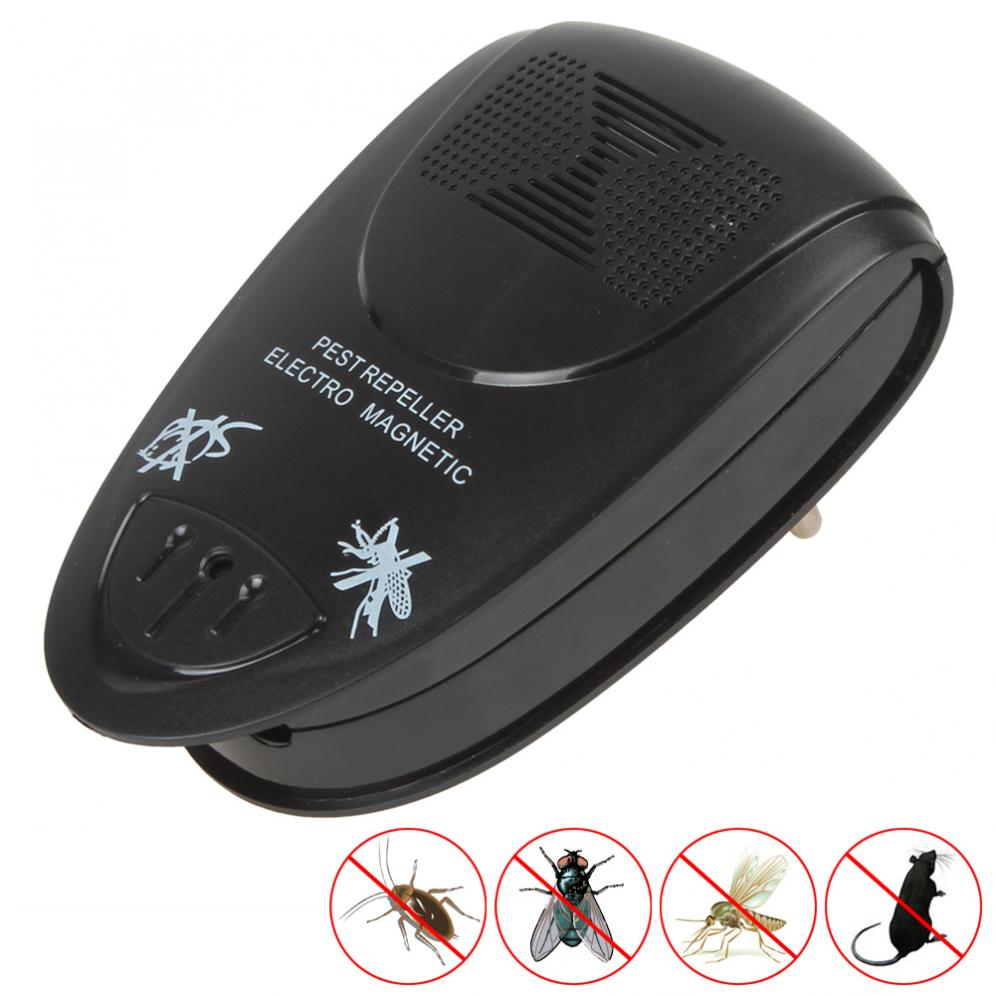 Ultrasonic Electronic Anti Mosquito Mice Insect Pest Bug Control Repeller Killer