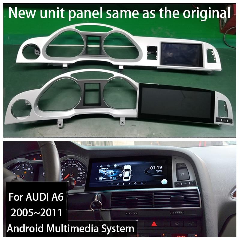 Android 9,0 2 + 32G для Audi A6 C6 4F 2005 ~ 2011 MMI 2G 3G автомобильный Android радио Gps навигатор мультимедиа стерео AU|Мультимедиаплеер для авто|   | АлиЭкспресс