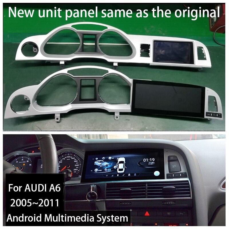 Android 9.0 2+32G For Audi A6 4F AU 2005~2011 MMI 2G MMI 3G Car Radio Gps Navigator Multimedia Car Android Radio Stereo(China)