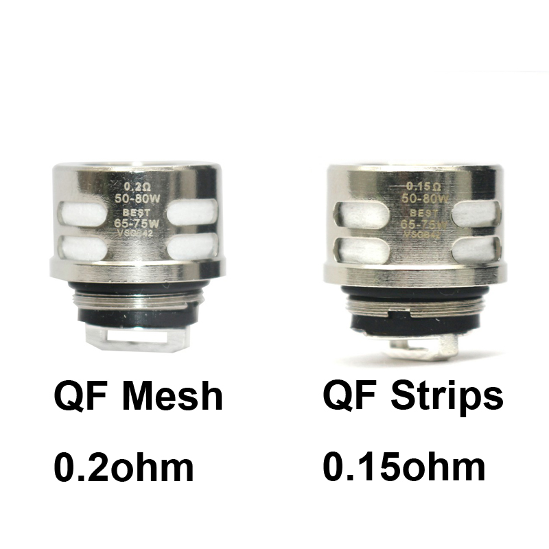 9/6/3pcs Replacement Coil 0.2ohm QF Mesh 0.15ohm QF Strips Vape Core Coil For SKRR Atomizer Tank Luxe 220w Kit Vaporizer