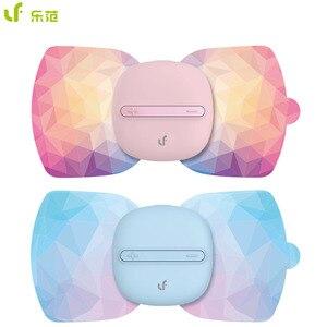Image 1 - Youpin LF marka taşınabilir elektrik stimülatörü masaj çıkartmaları tam vücut sihirli masaj terapisi Relax kas ofis çalışanı için