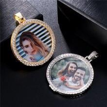 Ожерелье Стразы с круглым цирконом Роскошный кулон под заказ