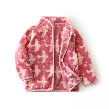Fleece Baby Coat with Bear Ears 5