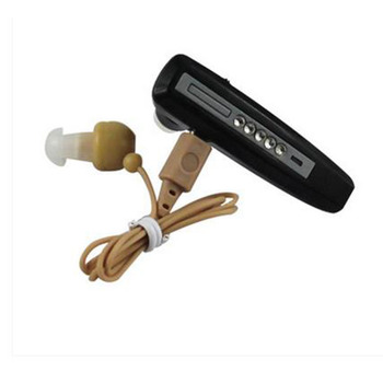 Fashionable old man hearing AIDS one USB charging binaural deafness bte hearing aid