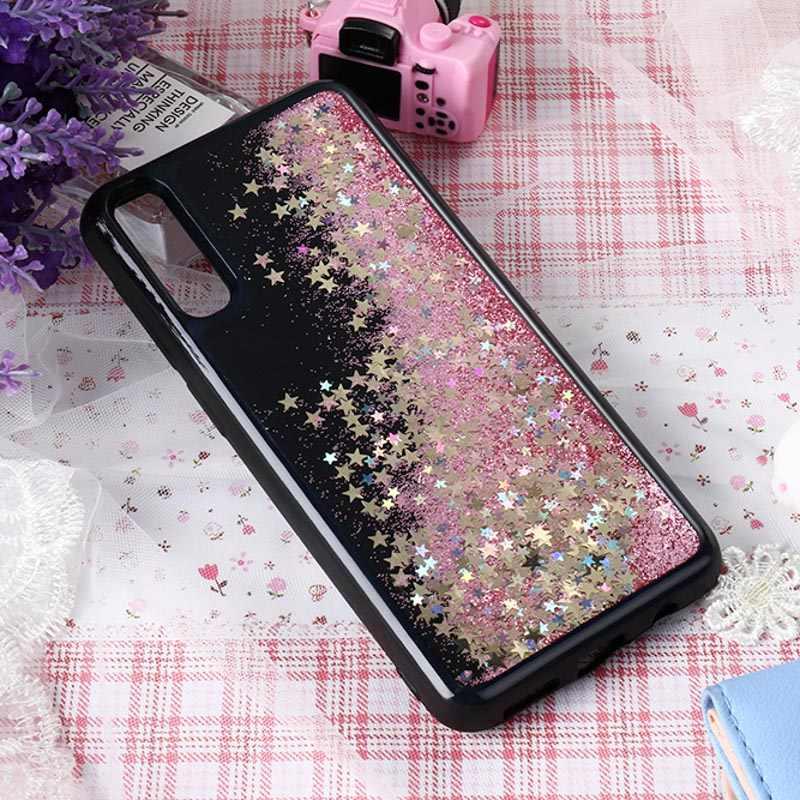 Chất Lỏng QuickSand Dành Cho Samsung S9 S8 S10 Plus S10E S7 Edge Ốp Lưng Glitter Cho Samsung Galaxy A50 A70 a30 A10 A40 Ốp Lưng