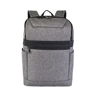 2019 Spring New Style Business Backpack Gray Stone Pattern Ant Cloth Light Travel Backpack Men's