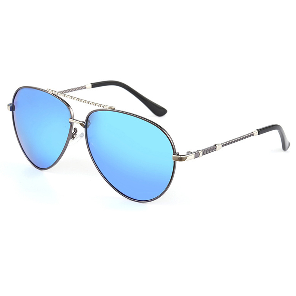 Polarized Sunglasses Frame UV400 with Box 7-Colors Metal Male Men New