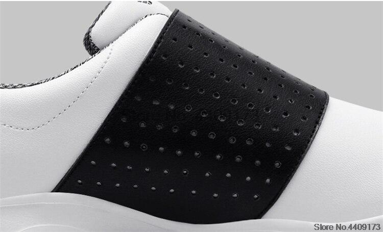 sapatos de golfe prego antiderrapante rotativa cadarços
