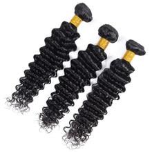 Tissage en lot péruvien naturel non-remy 100% naturel-Admutty Hair, Extensions de cheveux, Deep Wave, livraison gratuite