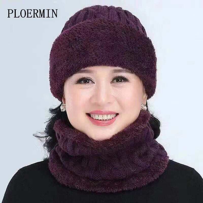Winter Balaclava Women's Fashion Knitted Hat Caps Mask Gorras Warm Winter Hats For Women Men Skullies Beanies Mom Cap Dad Hat