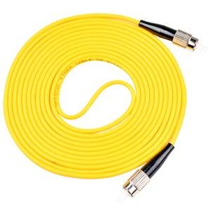 Image 4 - 5PCS/bag FC/ UPC FC/ UPC Simplex mode fiber optic patch cord Cable 2.0mm or 3.0mm FTTH fiber optic jumper cable