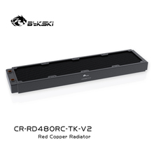 Bykski Water Cooler Cooling 480Mm Radiator Voor Pc Cooling 40Mm Dikte Voor 12Cm Fan Hoge Koeler Radiator 120Mm Fan