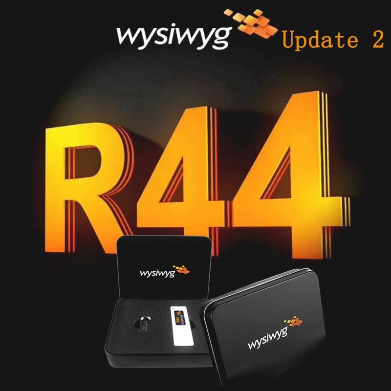 Lighitng Software WYSIWYG Release 44 DJ Light MA2 Command Wing Moving Head Dmx Controller WYSIWYG R44 Perform Dongle