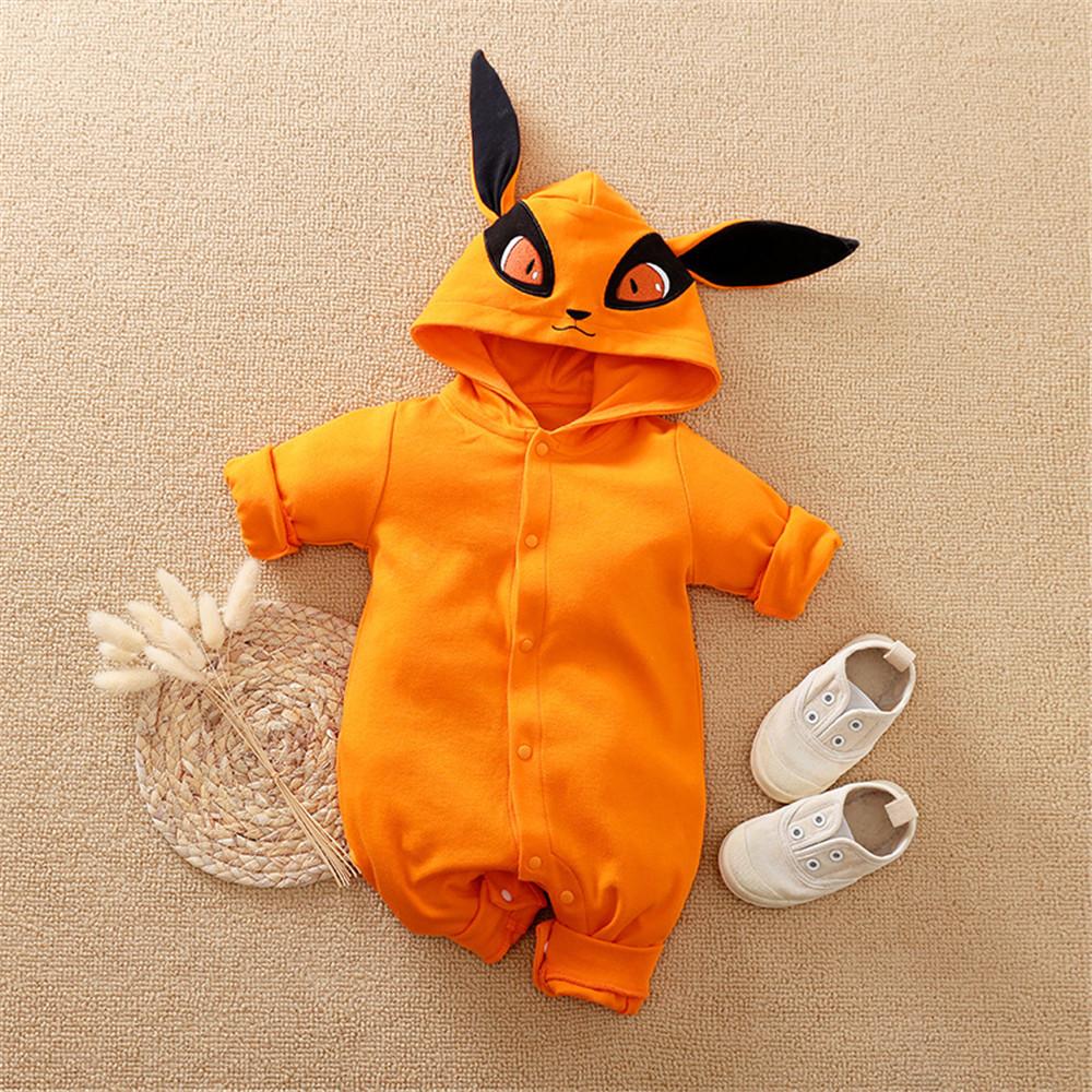 NASHAKAITE Anime Baby Romper Newborn Male Baby Boy Clothes Cartoon Cosplay Costume For Baby Jumpsuit Kids Baby Overalls