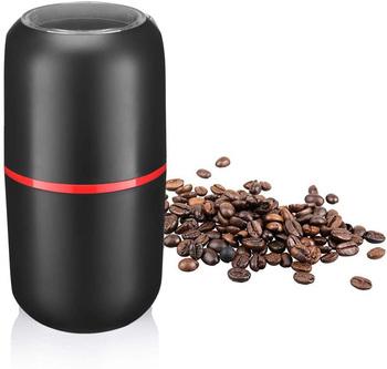 Elektryczny młynek do kawy pojemność młynek do przypraw ze stali nierdzewnej ostrze ze stali 150W potężny wielofunkcyjny młynek do ziarna kawy tanie i dobre opinie CHUBAN CN (pochodzenie) TBB0157 Szlifierek zadziorów (stożkowe) Elektryczne 90x90x173mm Electric Coffee Grinder Capacity Spice Grinder