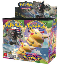 Box Cards-Game Evolutions-Booster Collectible Pokemon-Cards Team-Up Trading 324pcs Unbroken-Bond