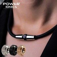 Power Ionics 3000ions/cc Anion Fashion Sports Golf Baseball Titanium Ion Pendant Necklace