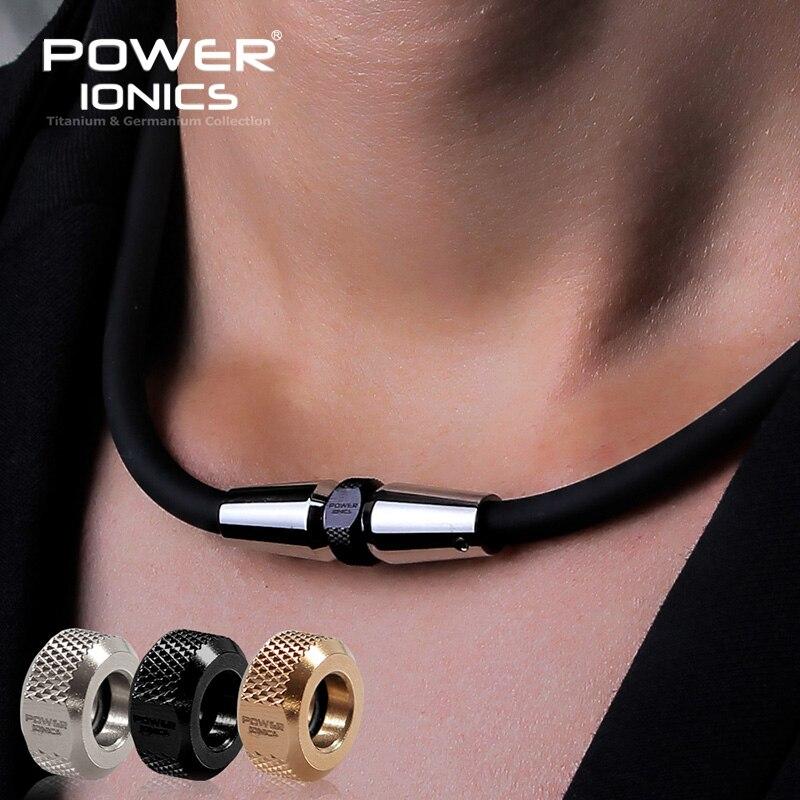 Power Ionischen 3000 ionen/cc Anion Mode Sport Golf Baseball Titan Ionen Anhänger Halskette-in Kraft-Halskette aus Schmuck und Accessoires bei  Gruppe 1