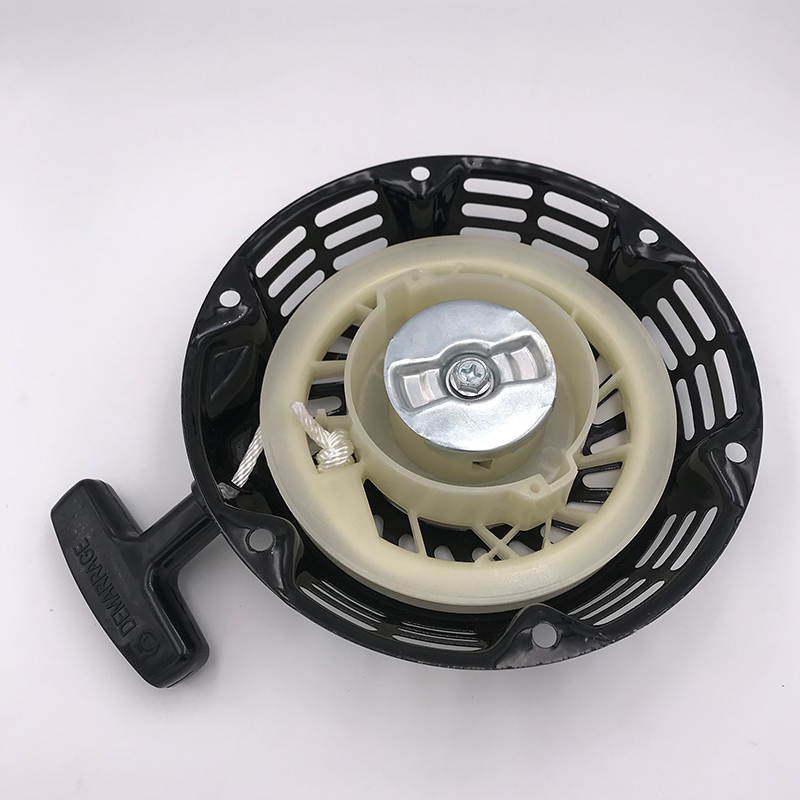 Black Rewind Pull Recoil Starter Fit For Honda GX160 GX200 5.5HP 6.5HP Grass Trimmer Lawn Mower Chainsaw Makita Spare Parts