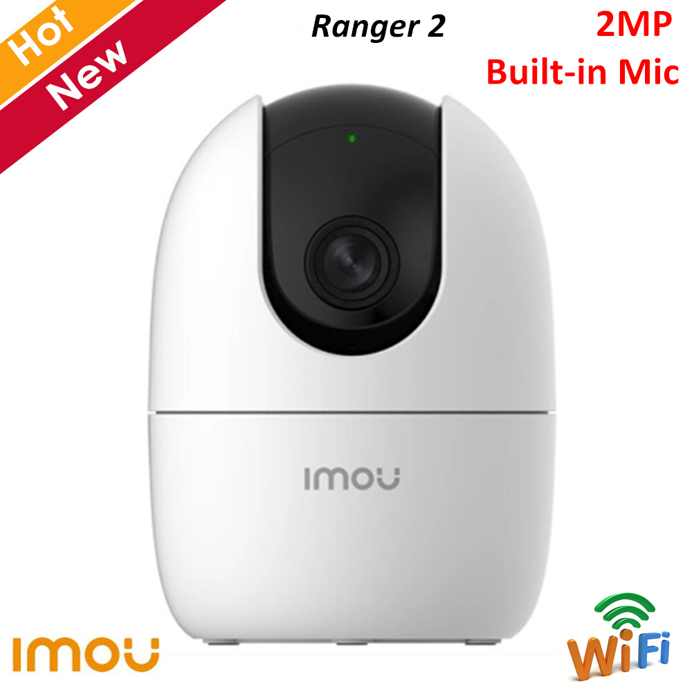 Dahua Imou Ranger 2 Wifi Camera Built in MIC Siren Two way Talk Support Cloud and SD Card 256G 360° Coverage Wireless Camera image