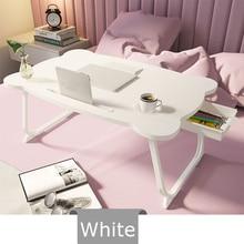 Table-Desk Laptop-Stand-Holder Sofa Multi-Functional Folding Wooden Study Serving