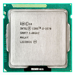 Intel Core i5 3570 processore i5-3570 3.4 GHz/6 MB LGA 1155 Processore CPU HD 2500 Supportati memoria: DDR3-1333, DDR3-1600