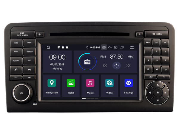 Buy RUISO 4g+64g 8-Core Car DVD Player Android 9.0 for BENZ ML-W164 car multimedia auto stereo 1080P gps wifi dvr dab obd ips for only 457 USD