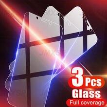3 peças de vidro protetor para xiaomi redmi 5 plus 4x 6 7 7a 4a 5a 6a pro vidro temperado para redmi nota 7 6 5 k30 pro 5a ir s2 vidro