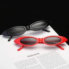 Cute Water Drop Women Sunglasses Red Frame 8 Color PC Frame