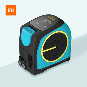 Image 1 - شريط قياس بالليزر من شاومي Mileseey DT10 شريط قياس ليزر رقمي 2 في 1 مع خطاف مغناطيسي بشاشة عرض LCD رقمية