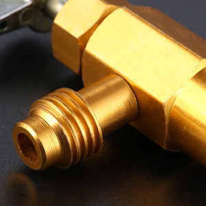 Image 5 - R 134A AC קירור יכול פותחן מחלק ברז שסתום 1/2 פסגת חוט פליז