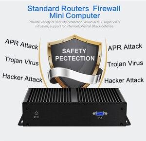Image 4 - Firewall Router Mini PC Intel i3 7100U Celeron 1007U 1037U 4GB DDR3L RAM 60GB SSD 6*1000Mbps LAN RJ45 Pfsense Gateway Appliance