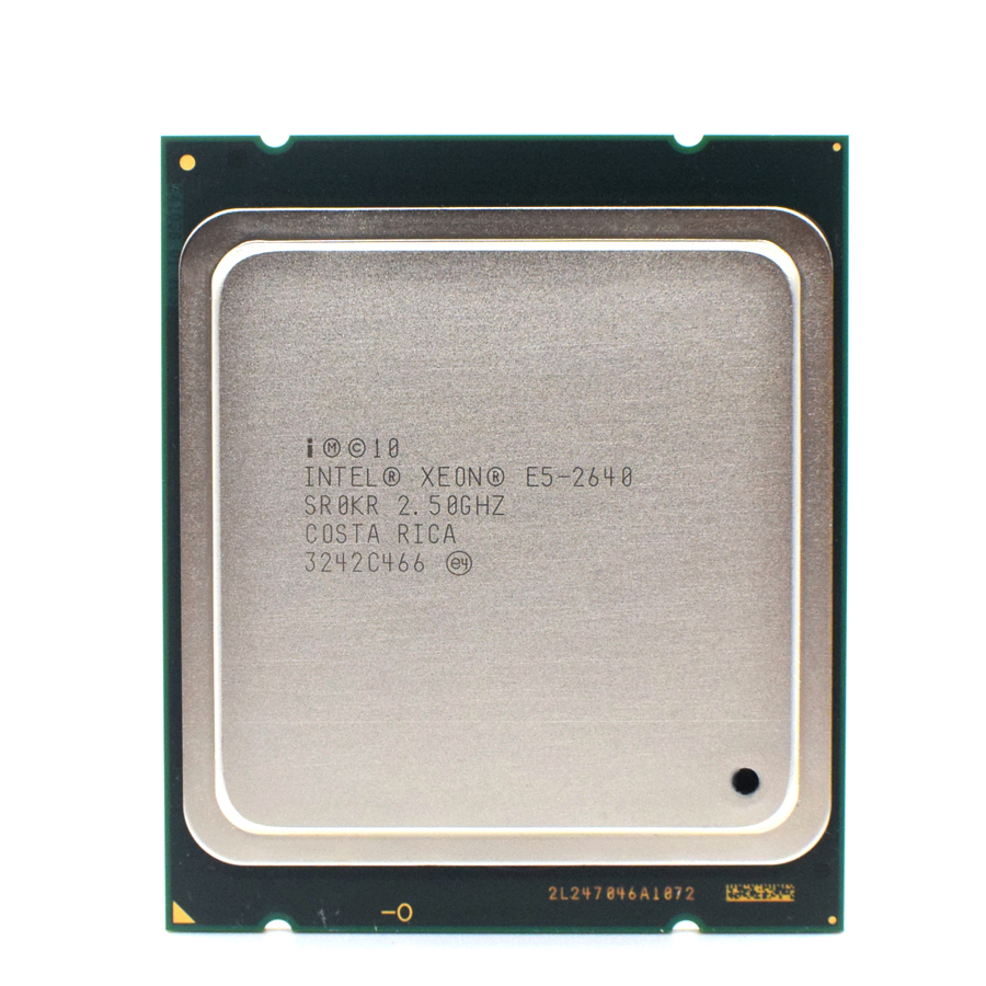 E5 2640 Intel Xeon lga 2011 CPU Processore 2.5GHz Six-Core Twelve-Thread support X79 motherboard 1