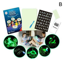 Draw With Light Fun And Developing Toy Drawing Board 3D Magic Draw Educational bowknot owl print draw diamond drawing