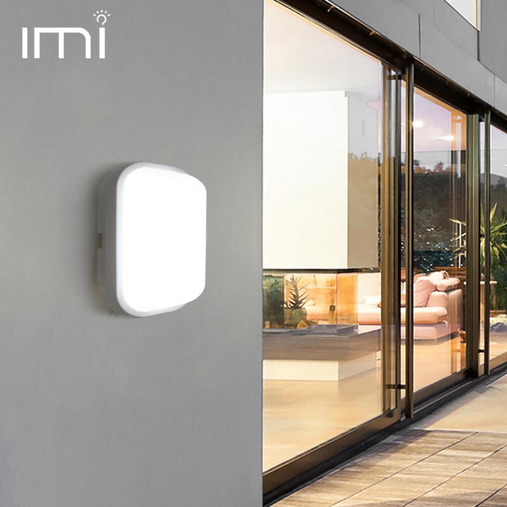 LED Wall Lamp Light Modern Sconces 15W 20W Indoor Stairs Lighting Fixture Bathroom Garden Yard Porch Outdoor Waterproof IP54 220