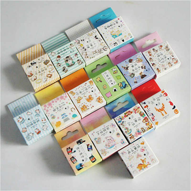 2019 Baru Kawaii Washi Tape 15 Mm * 5 M Masking Tape Kelopak Hewan Berkualitas Tinggi Kertas Masking Tape jepang Scrapbooking Stiker