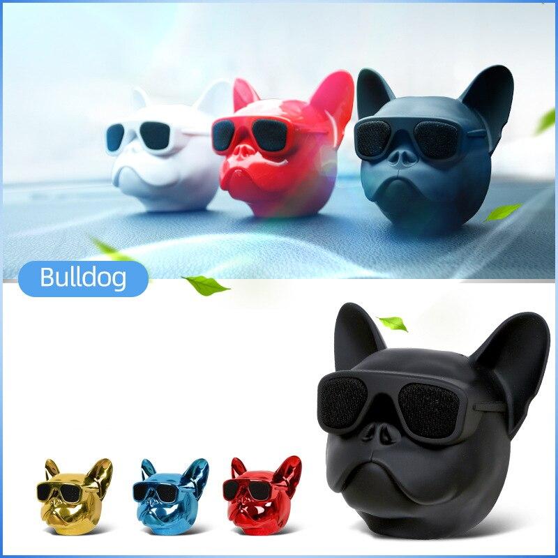 Bulldog Car Air Freshener perfume Automobile Interior Perfume Clip Fragrance Ornament Bull Dog Car Accessories decoration